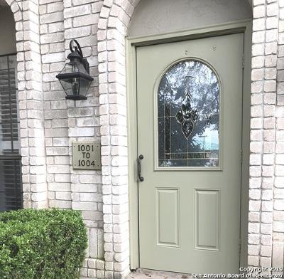San Antonio Condo/Townhouse For Sale: 8415 Fredericksburg Rd #1002