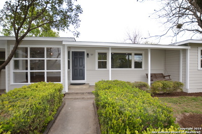 Balcones Heights Single Family Home Active Option: 127 Shadyview Dr