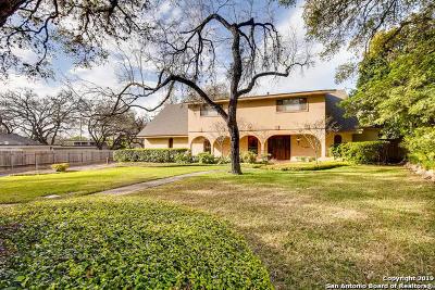 San Antonio Single Family Home New: 1414 Mt Vieja Dr