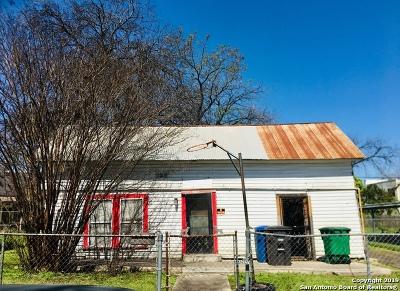 San Antonio Single Family Home New: 307 Sharer St