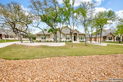 New Braunfels TX Single Family Home New: $600,000