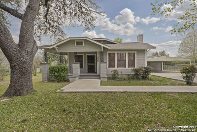 San Antonio Single Family Home Active Option: 305 Ligustrum Dr W