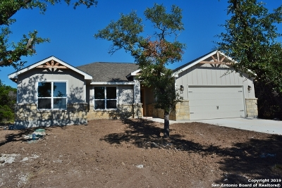 Canyon Lake Single Family Home New: 1264 Desiree St