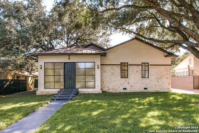 Alamo Heights Rental New: 182 E Edgewood Pl