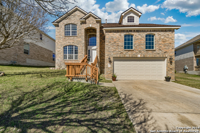 Helotes Single Family Home New: 10507 Wind Walker