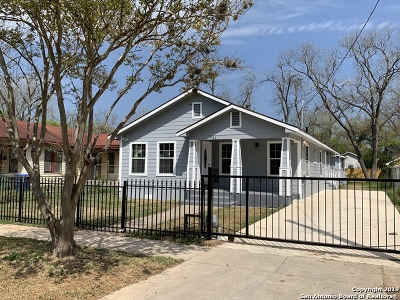 San Antonio Single Family Home New: 731 Delmar St
