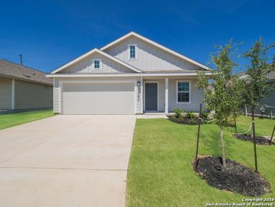 Bulverde Single Family Home New: Blk 23 Lot 17 Bard Lane