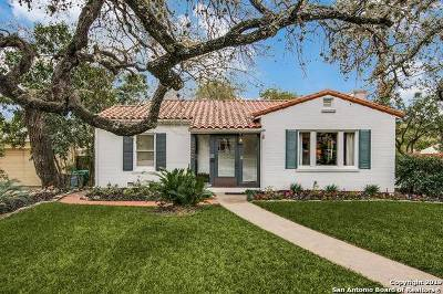 San Antonio Single Family Home New: 322 Evans Ave