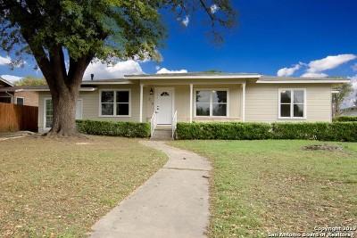San Antonio Single Family Home New: 219 Haverhill Dr