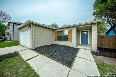 San Antonio Single Family Home New: 9935 Misty Plain Dr
