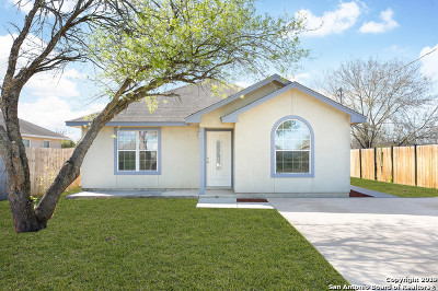 San Antonio Single Family Home New: 727 Peggy Dr