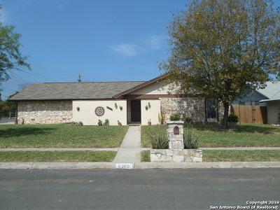 San Antonio Single Family Home New: 5303 El Medano St