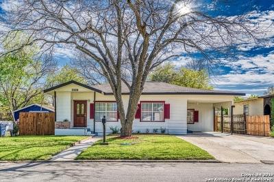 San Antonio Single Family Home New: 3328 Linn Rd