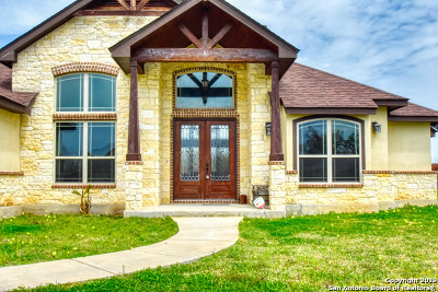 Floresville Single Family Home New: 264 Abrego Lake Dr