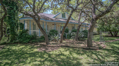 Boerne Single Family Home New: 9618 Boerne Spring