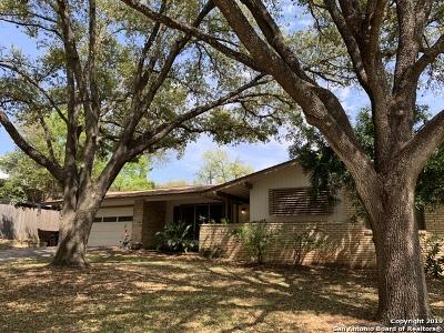 San Antonio Single Family Home New: 8606 Oak Ledge Dr