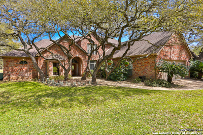 Fair Oaks Ranch Single Family Home For Sale: 29635 Fairway Bluff Dr