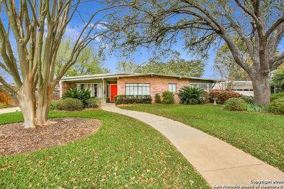 San Antonio Single Family Home New: 419 Calumet Pl