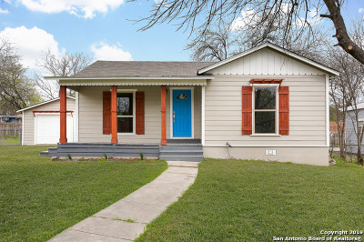 San Antonio Single Family Home New: 1419 Mardell St