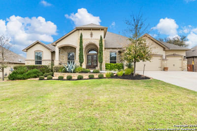 Boerne Single Family Home New: 28942 Bearcat