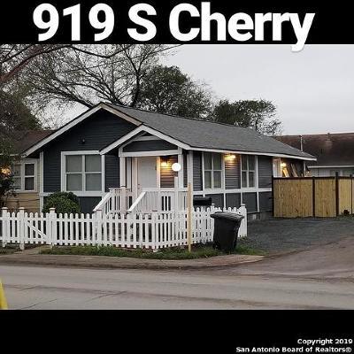 Single Family Home New: 919 S Cherry St