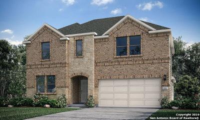 San Antonio Single Family Home Price Change: 8628 Dove Pass