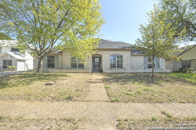 Schertz Single Family Home Active Option: 3410 Wimbledon Dr