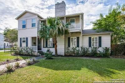 San Antonio Single Family Home New: 350 Garraty Rd