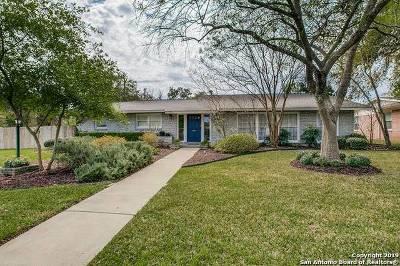 San Antonio Single Family Home New: 330 Rockhill Dr
