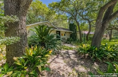 Alamo Heights Single Family Home For Sale: 141 W Fair Oaks Pl
