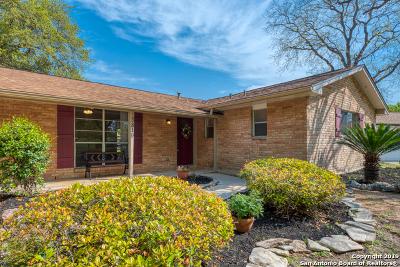 San Antonio Single Family Home New: 3819 Briarhill
