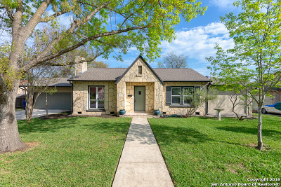 San Antonio Single Family Home New: 285 El Monte Blvd