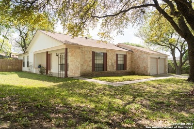 San Antonio Single Family Home New: 14122 Old Bond St