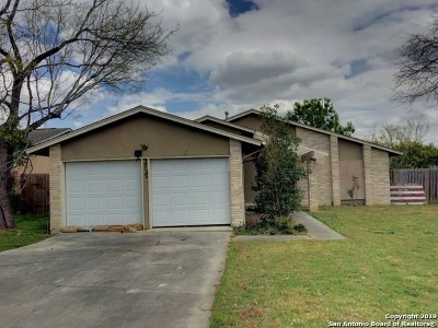 San Antonio Single Family Home New: 2722 Bear Springs Dr
