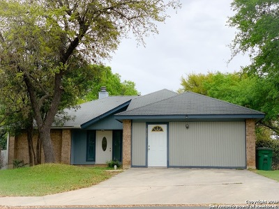 San Antonio Single Family Home New: 8730 Welles Dale Dr