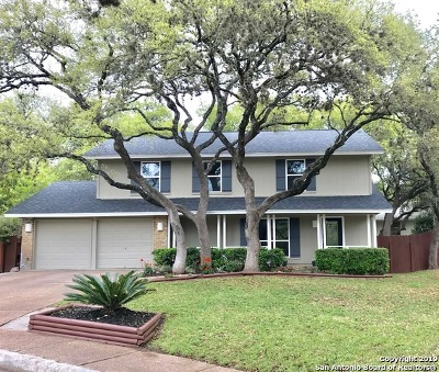San Antonio Single Family Home New: 15122 Mule Tree St