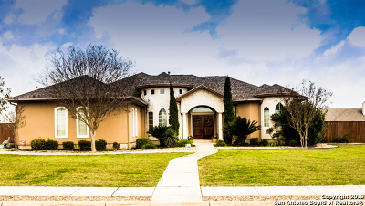 San Antonio Single Family Home New: 8307 Quail Field