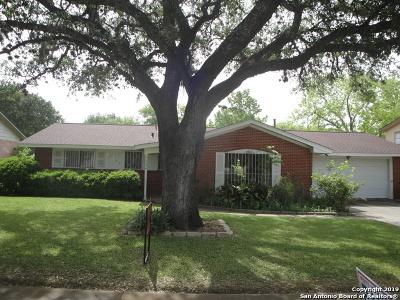 San Antonio Single Family Home New: 11214 Cedar Elm Dr