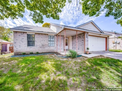 Schertz Single Family Home Active Option: 2629 Hidden Grove Ln