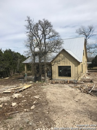 Boerne Single Family Home New: 115 Mountain View Trail
