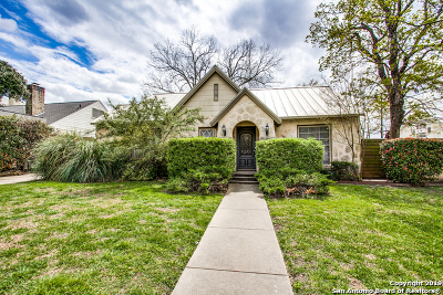 Olmos Park Single Family Home New: 102 E Hermosa Dr