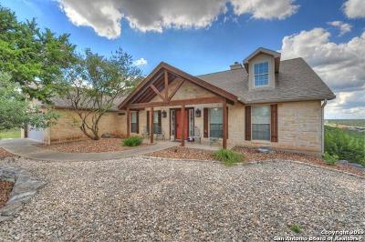 Kerrville Single Family Home Active Option: 2012 Crown View Dr