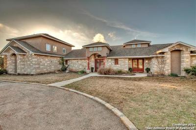 Kerrville Single Family Home For Sale: 1800 Landmark Rd