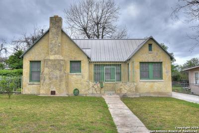 San Antonio Single Family Home New: 1020 W Huisache Ave