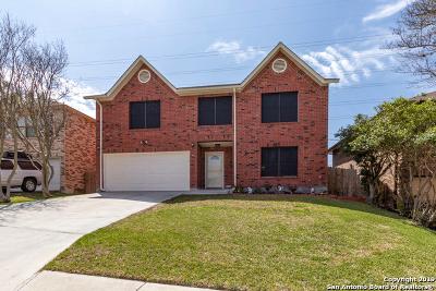 San Antonio Single Family Home New: 16707 Coral Glade