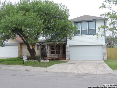 San Antonio Single Family Home New: 7310 Grassy Trail