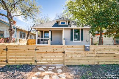 San Antonio Single Family Home New: 314 Indiana St