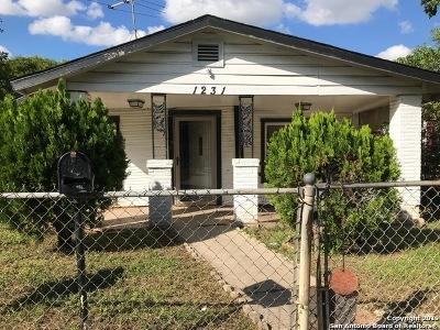 San Antonio Single Family Home New: 1231 Rivas St