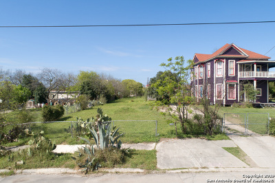San Antonio Residential Lots & Land New: 1021 E Crockett St