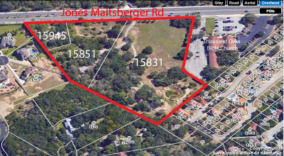 Bexar County Single Family Home New: 15831 Jones Maltsberger Rd
